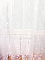 Тюль органза Fifty White SR-50, фото 1