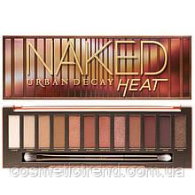 Палетка тіней Urban Decay Naked Heat Eyeshadow Palette (12 кольорів)
