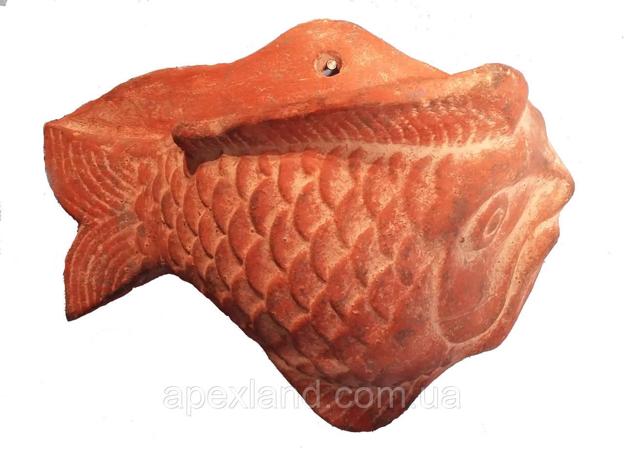 Настенная  фигурка «Рыба» из терракоты