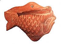 Настенная  фигурка «Рыба» из терракоты, фото 1