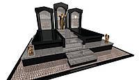 Пам'ятник надгробний гранітний подвійний Ексклюзивнийс S643