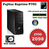 Ситемний блок Fujitsu Esprimo P705 AMD Athlon II X2 265   \ DDR3 4Gb \ HDD 320 Gb Tower