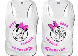 Парні футболки для кращих подруг