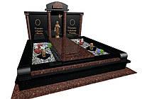 Пам'ятник ексклюзивний надгробний гранітний з Токівського граніту S5105, фото 1