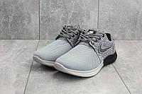 Кроссовки CrosSAV 41 (Nike Roshe Run) (лето, мужские, сетка плотная, серый)