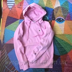 Худи Champion Pink (вышивка)