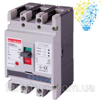 Шафовий автоматичний вимикач 3р, 630А (e.industrial.ukm.800Re.630) з електронним розчіплювачем