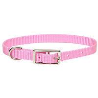 Ошейник  ярко-розовый для собак (1*32 см.) Coastal™