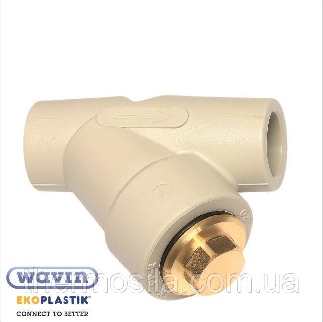 Зворотний клапан d 20 , Ekoplastik
