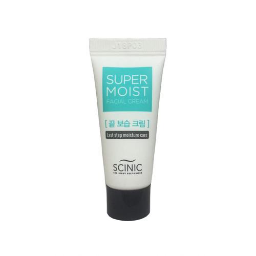 Супер увлажняющий крем для лица Scinic super moist facial cream light 10 мл