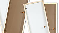 Стеклянные двери для саун 80х210