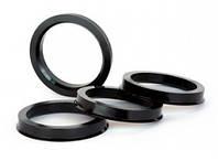 Центровочные кольца 57,1 x 56,1 (JN 1984) - Термостойкий поликарбонат 280°C, комплект (4 шт.)