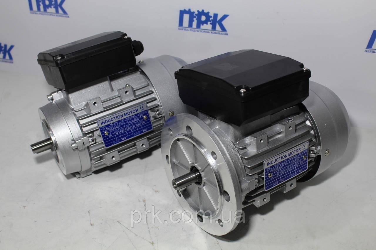 Однофазный асинхронный двигатель ML 63 1-4 0,12кВт 1380 об./мин.