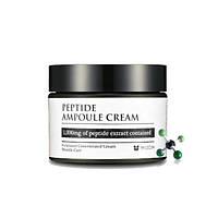 Высококонцентрированный пептидный крем для укрепления кожи Mizon Peptide Ampoule Cream 50 мл
