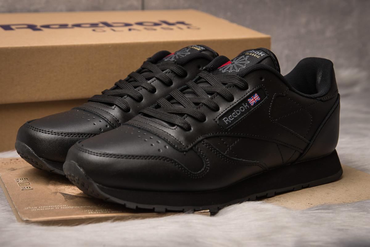 Кроссовки мужские Reebok  Classic, черные (12099) размеры в наличии ►(нет на складе)