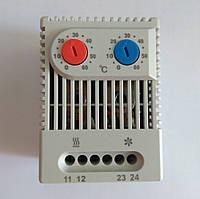 Терморегулятор горячий+холодный  от 0 -60°C от 0 +60°C GAV 451