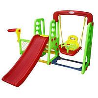 Детский игровой комплекс горка JM 701A