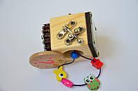 Бизикубик с потайным отверстием, спираль, бронза, фото 1