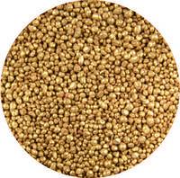 Шоколадная посыпка золотая, 120 г (TM «Pavoni»)
