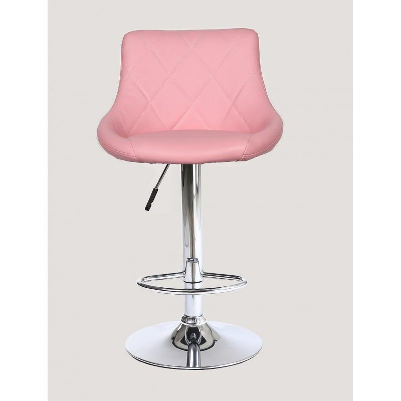 Стул барный хокер HC1054 Розовый