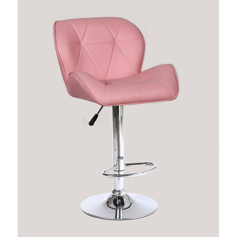 Стул барный хокер HC111W Розовый
