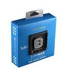 Автомобильный адаптер USAMS (2100mAh+1000mAh) 2х USB для iPhone/iPod/iPad, фото 2