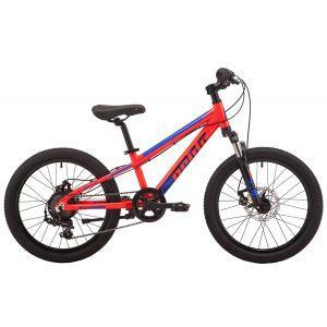 """Велосипед PRIDE ROWDY 2.2 20"""" 2019 красный"""