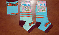 Детские  носочки Тоник. Р. 16-18. Житомир. Самолетик. Хлопок., фото 1