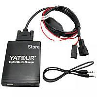 Адаптер Yatour BM4 YT-M06  BMW 1991-2006 BMW 3pin+6pin X5 X3 M3 M5 USB CD AUX Эмулятор CD чейнджера, фото 1