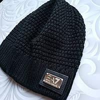 Демисезонная шапка Armani, 5-10 лет, фото 1