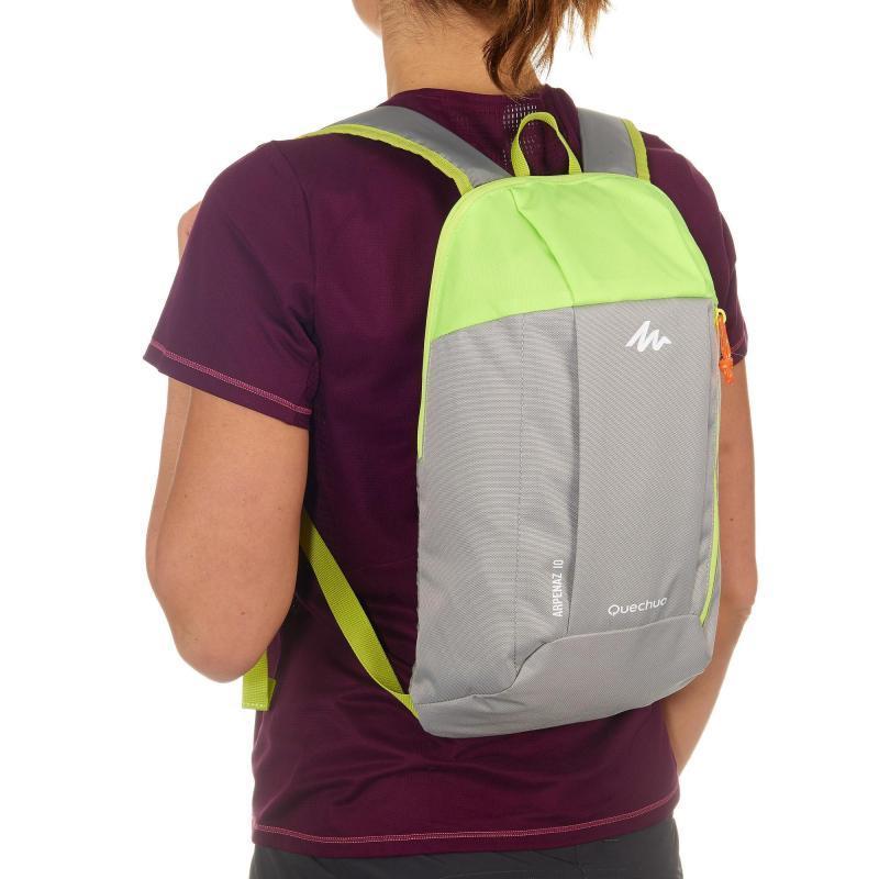 Спортивный рюкзак QUECHUA 10L, серый, фото 4