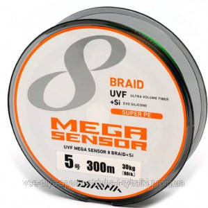 Шнур UVF Mega Sensor X8 5#-300