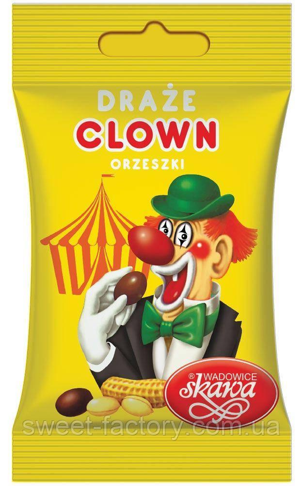 Драже Арахис в шоколаде Clown