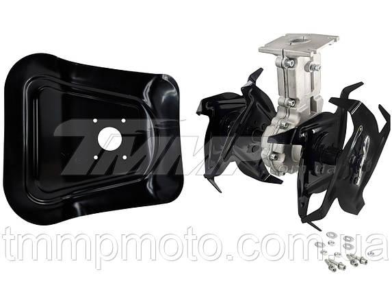 Насадка культиватор 28*7 / Насадка культиватор(фреза) для мотокосы на подшипниках, фото 2