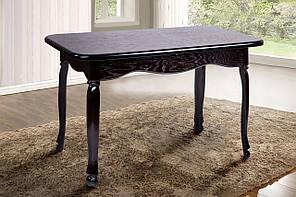 """Раскладной стол """"Гаити"""" (венге, массив дуба) 160см"""
