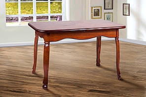 """Раскладной стол """"Гаити"""" (орех, массив дуба) 160см"""