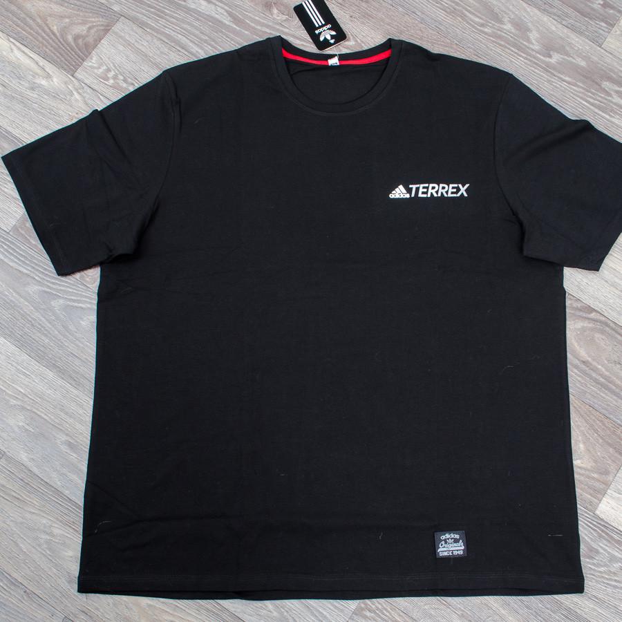 Футболка-супербатал с логотипом, Adidas (Черный)