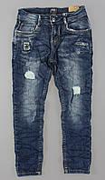 Джинсовые брюки для мальчиков S&D оптом, 4-12 лет., фото 1