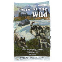Taste Of The Wild  13kg Pacific Stream Puppy беззерновой корм для щенков всех пород с рыбой