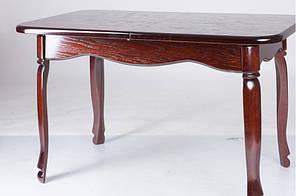 """Розкладний стіл """"Гаїті"""" (каштан, масив дуба) 160см"""