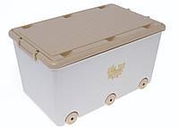 Ящик для игрушек Tega TEDDY BEAR MS-007 (кремовый/коричневый(beige/brown))