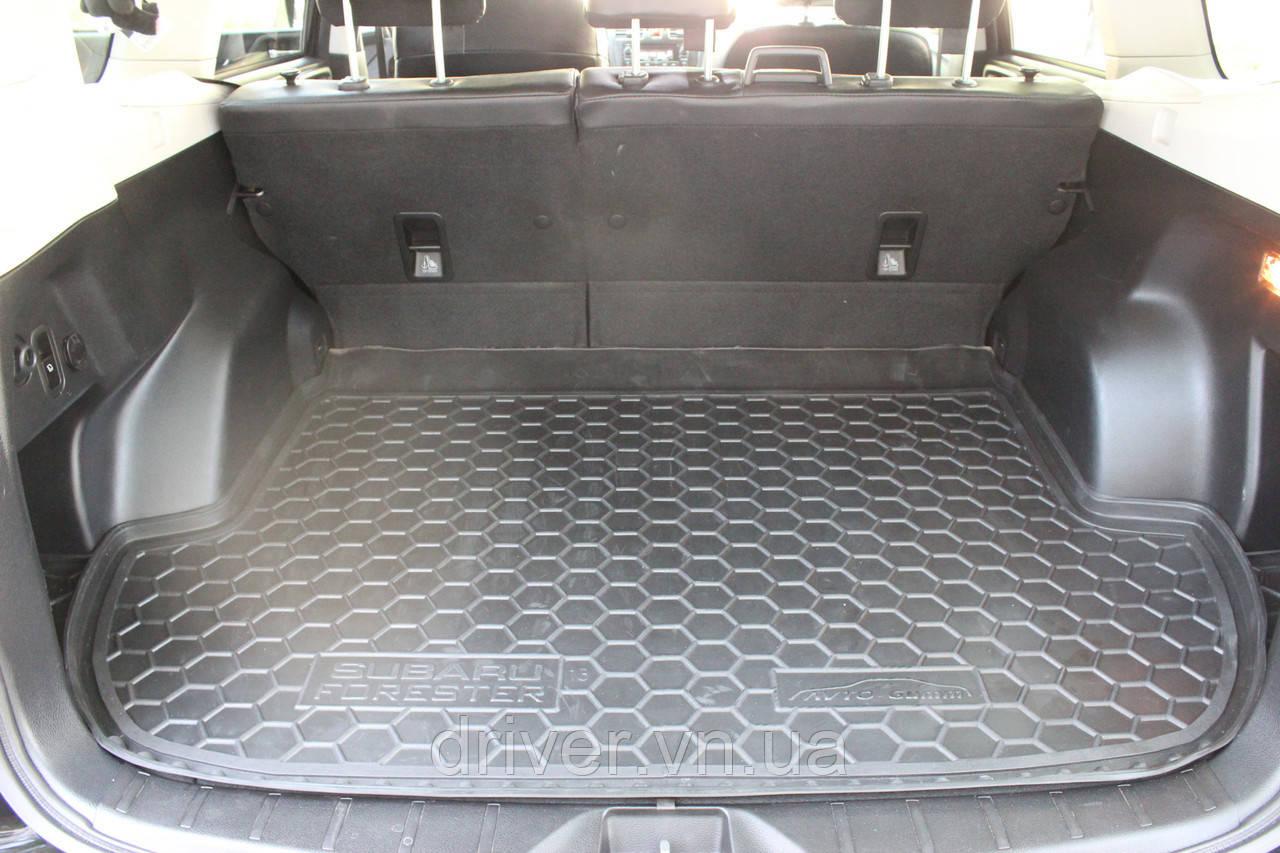Килимок в багажник  Chevrolet Cruze (седан)