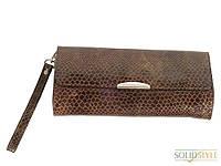 Женская кожаная сумка  змеиный принт Magdy 06902211-15