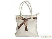 Женская кожаная сумка змеиный принт Magdy 06902716-11