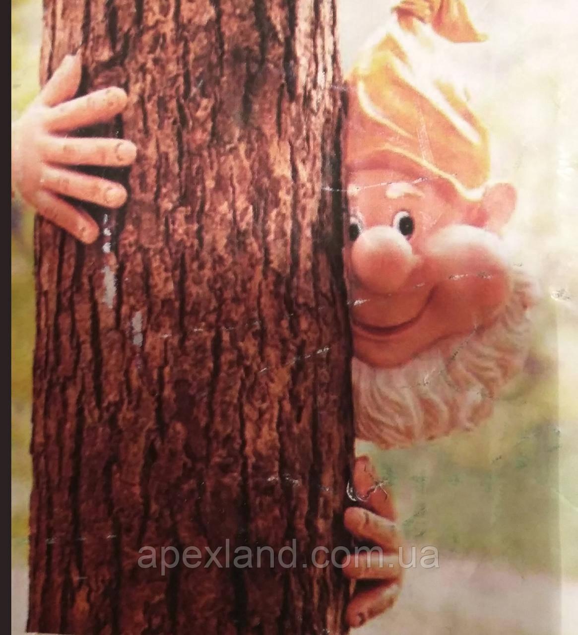 Декор для  ствола дерева - гном на дереве