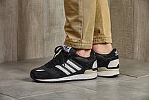 Мужские кроссовки Adidas ZX 700 Black ( Реплика ) Остался 44 размер, фото 2
