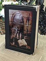 Книга элитная подарочная с переплетом из натуральной кожи Мудрость тысячелетий
