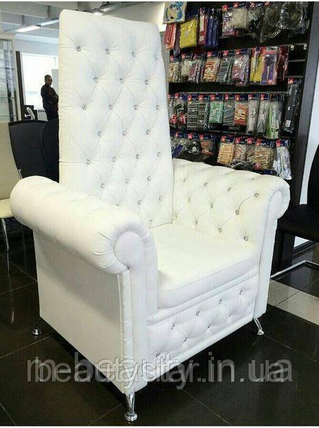 """Кресло для педикюра """"Трон""""Королева-большого размера"""