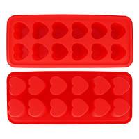 Качественная форма силиконовая для заморозки и выпекания 22.5*9.5*2см  7705