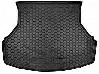 Коврик в багажник Lada Granta (седан) (без шумоизоляции) 2011 - черные, пластиковые (Avto-Gumm, 211529) - штука